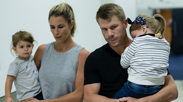 Warner spending invaluable time with family to wade past the difficult phase