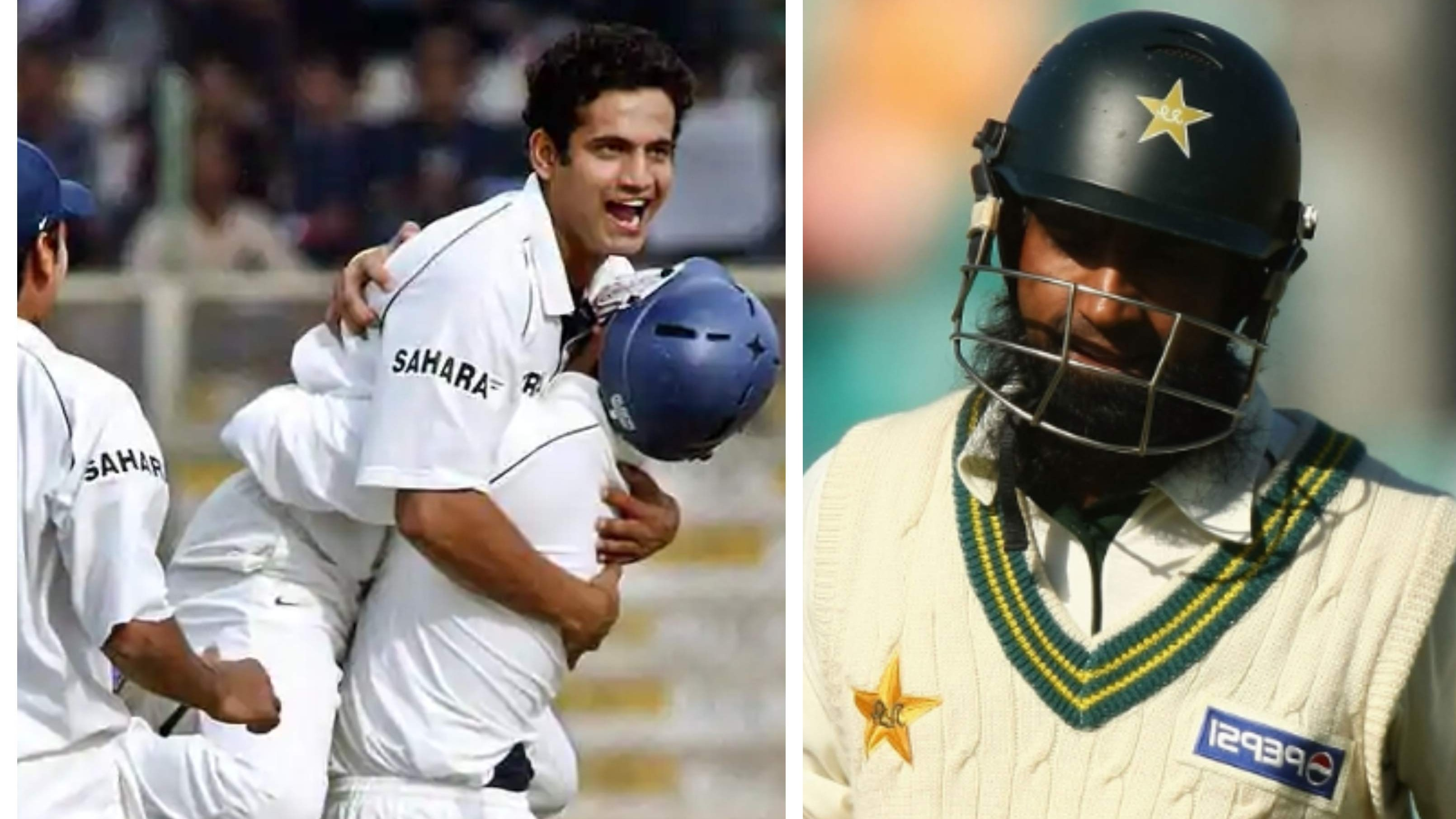 Irfan Pathan recalls Mohammad Yousuf's conversation with his father before his Test hat-trick in Karachi