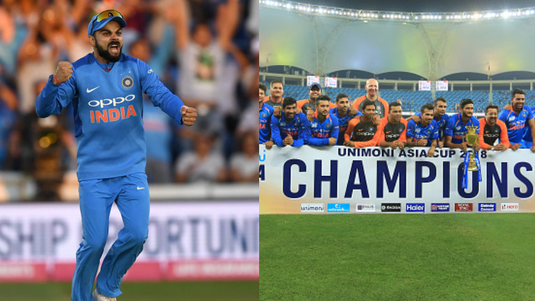 Asia Cup 2018: Virat Kohli congratulates Indian team for winning the Asia Cup title