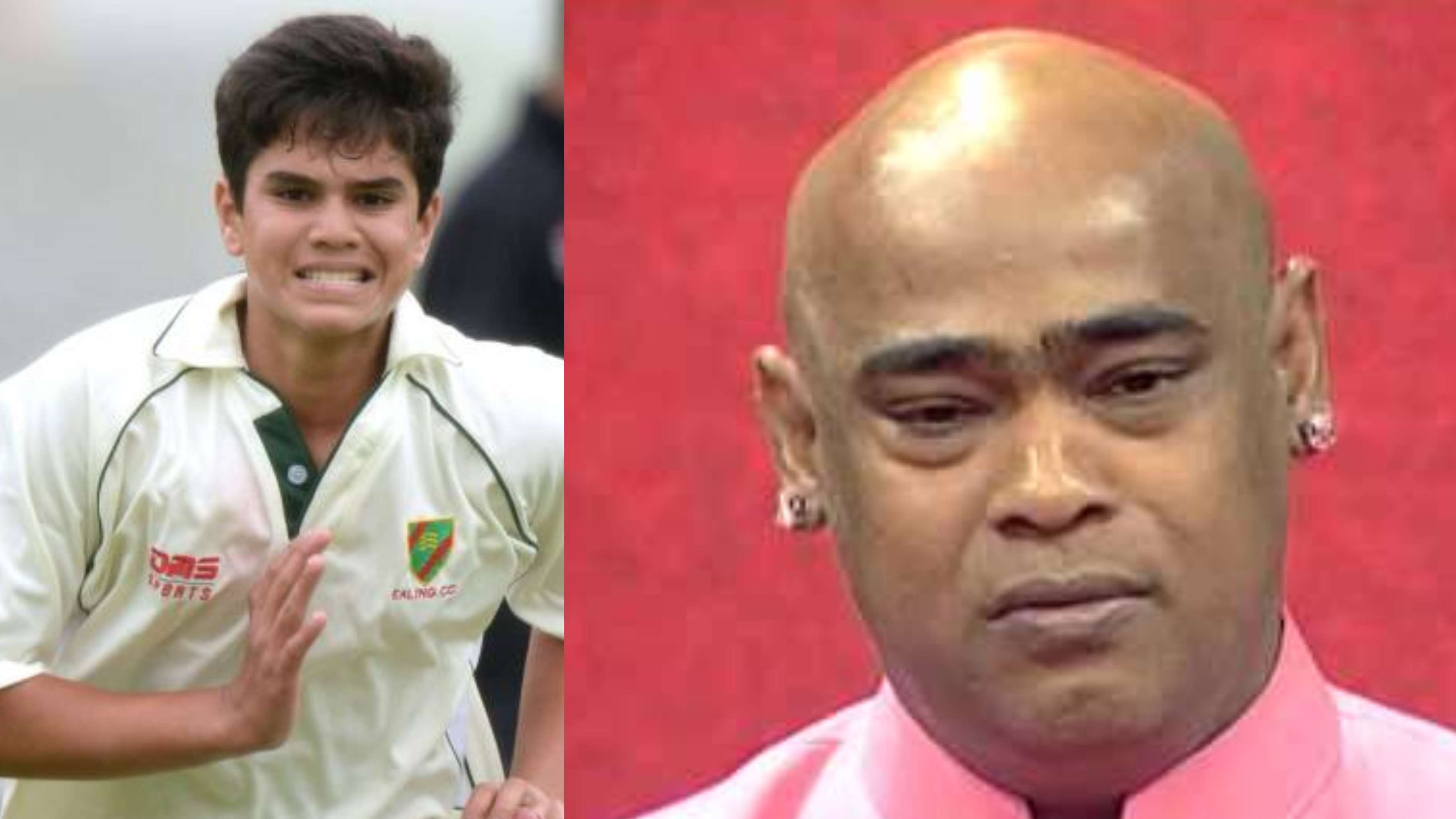Vinod Kambli gets emotional after Arjun Tendulkar picked his maiden wicket for India U19