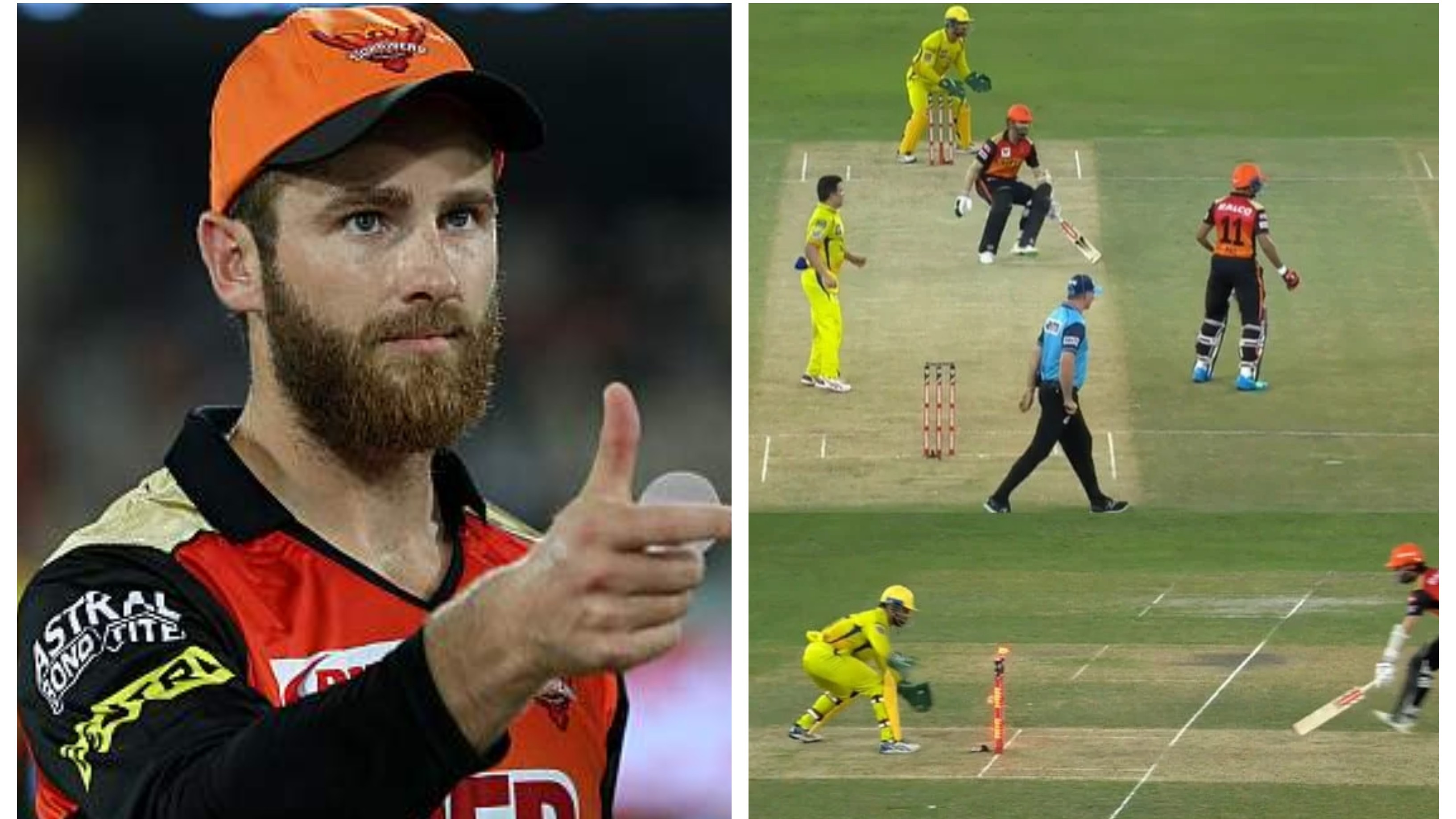 IPL 2020: 'Don't worry & forget about the run-out', Williamson to Priyam Garg during innings break