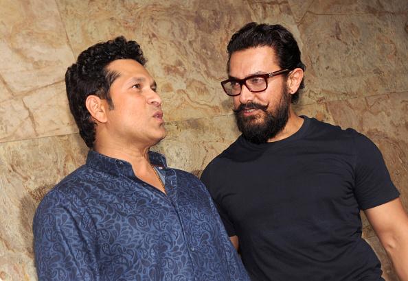 सचिन तेंदुलकर और आमिर खान | Getty