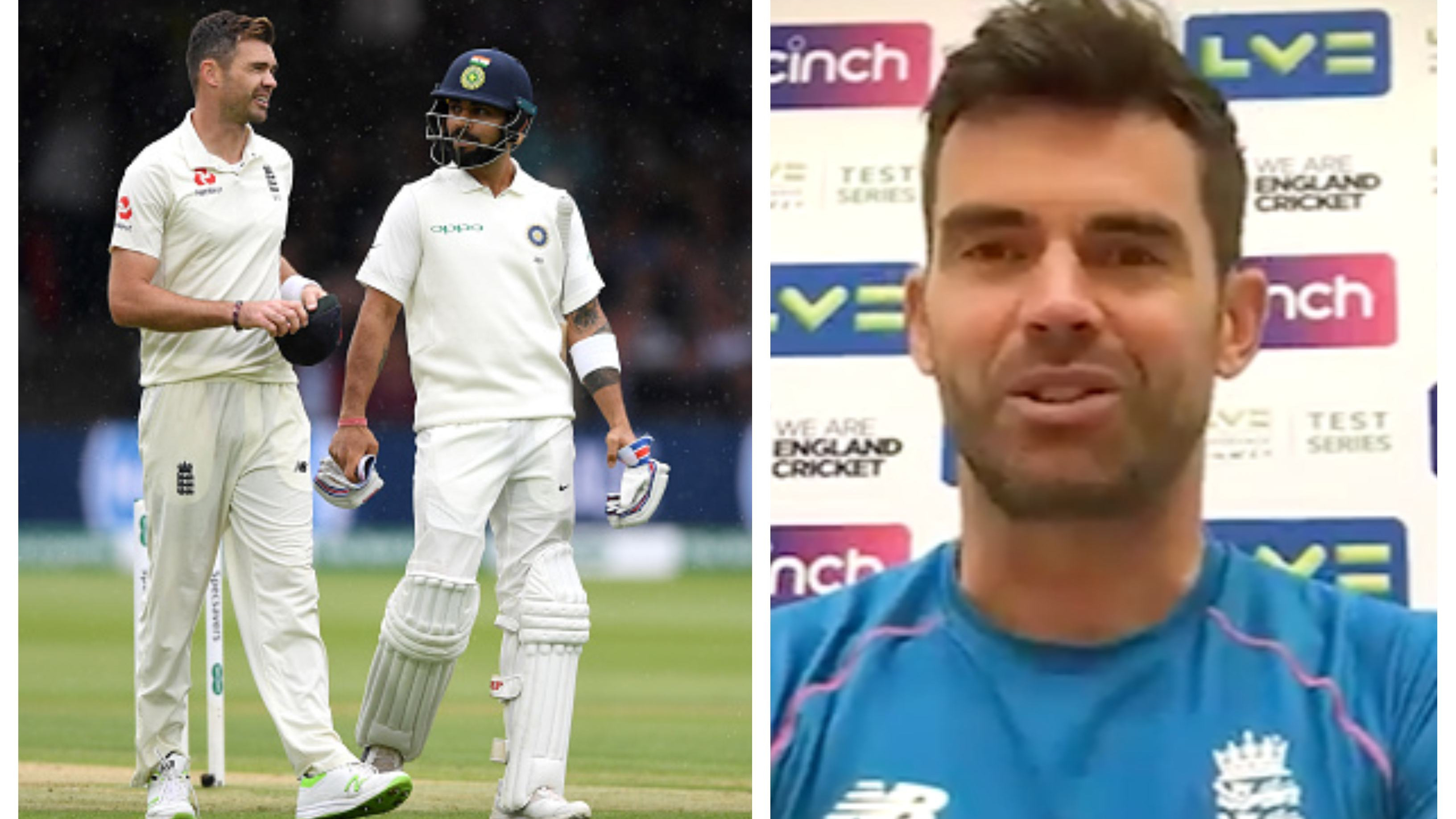 ENG v IND 2021: James Anderson hails Virat Kohli as one of world's best, says he is excited for the battle