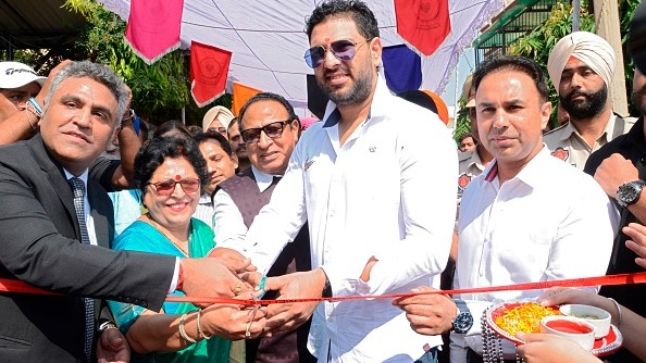 """""""Giving back to society is on my mind"""", says Yuvraj Singh"""