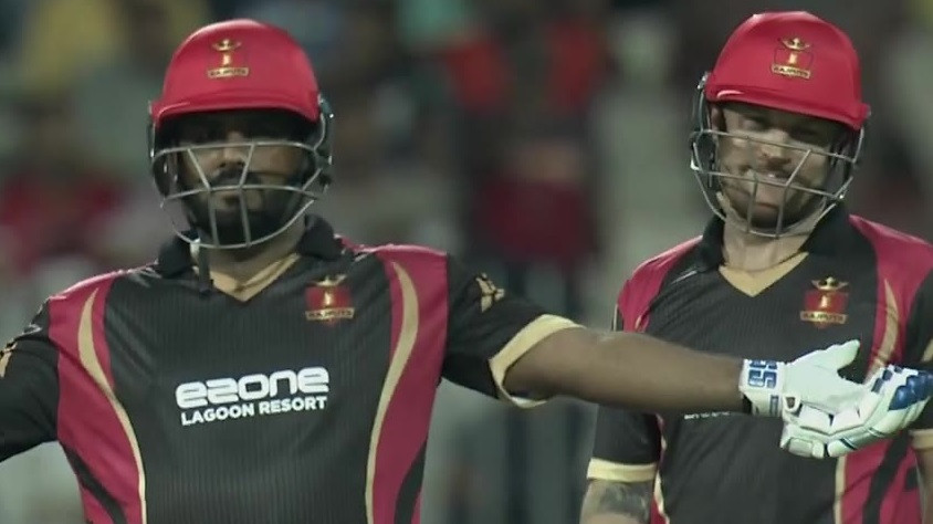 Mohammad Shahzad smashes 16-ball 74* with 8 sixes and 6 fours in T10 league