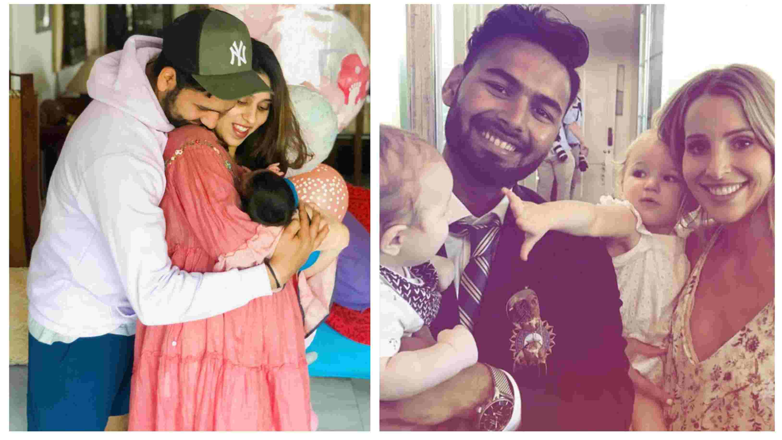 Rohit Sharma, Ritika Sajdeh ask Rishabh Pant to 'babysit' their daughter