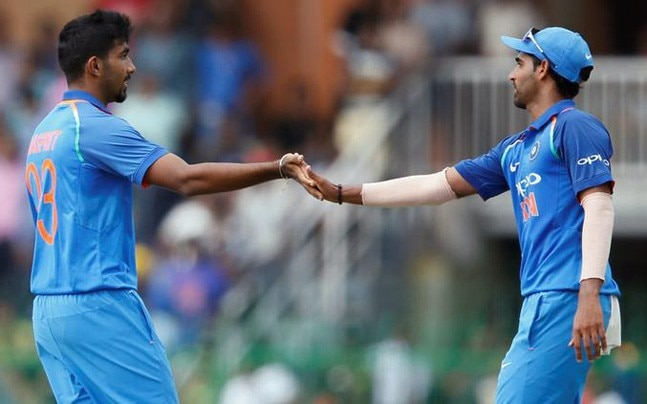 Bhuvneshwar Kumar and Jasprit Bumrah - the best death overs combo | Reuters