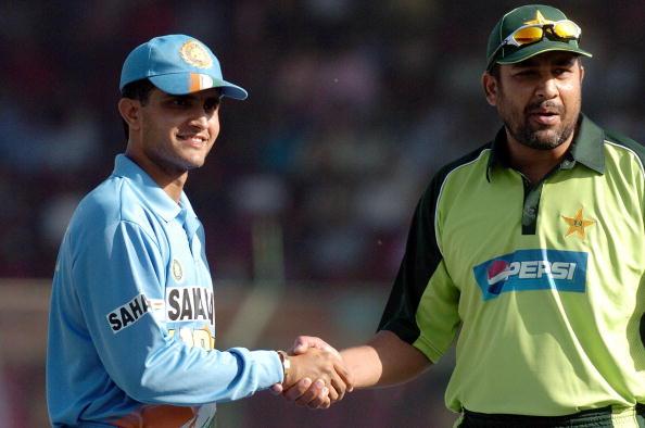 Sourav Ganguly and Inzamam Ul Haq | Getty
