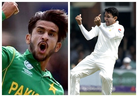 Hasan Ali and Mohammad Abbas | Getty