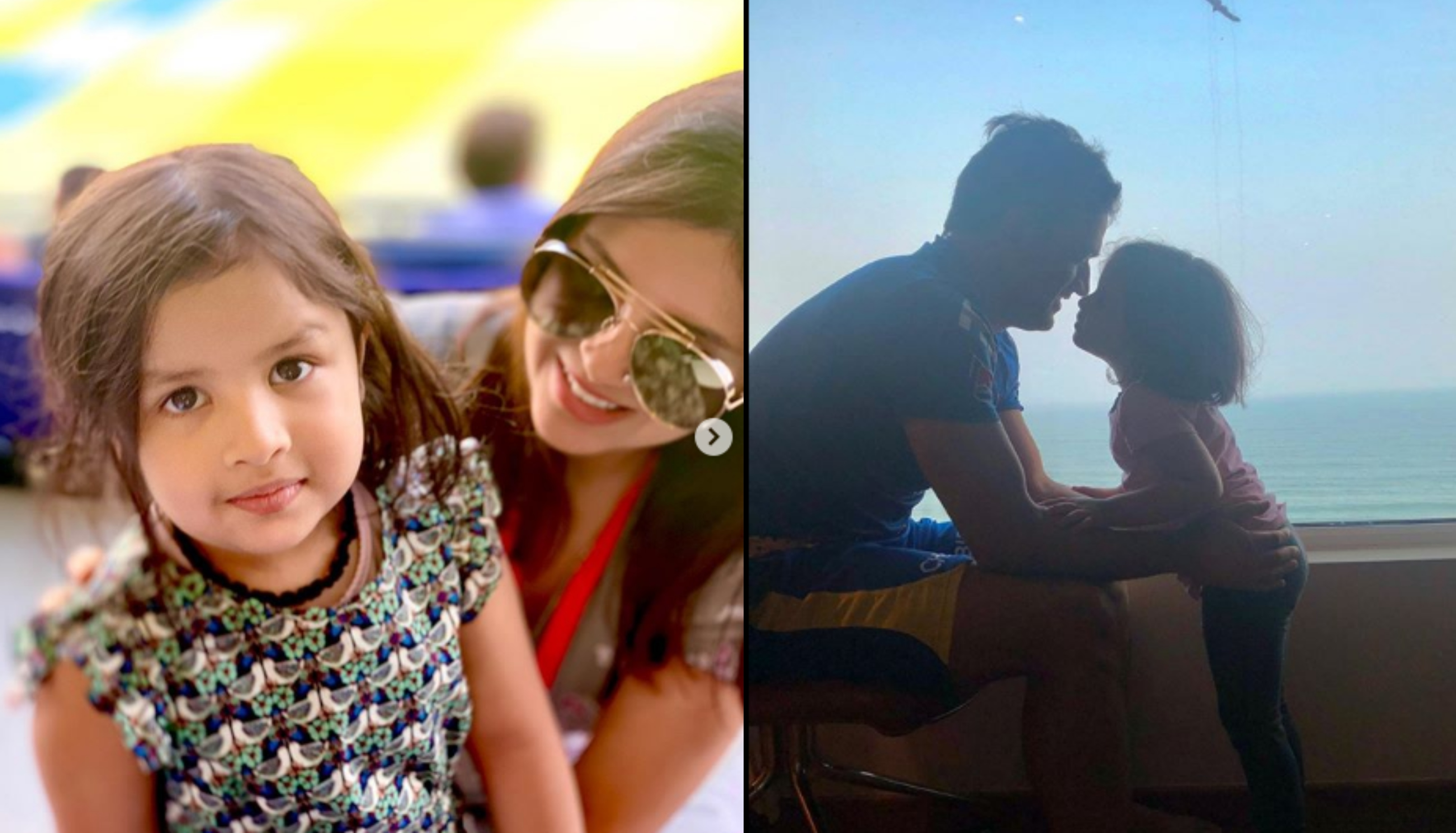 Sakshi and Ziva aren't in the UAE  | Instagram