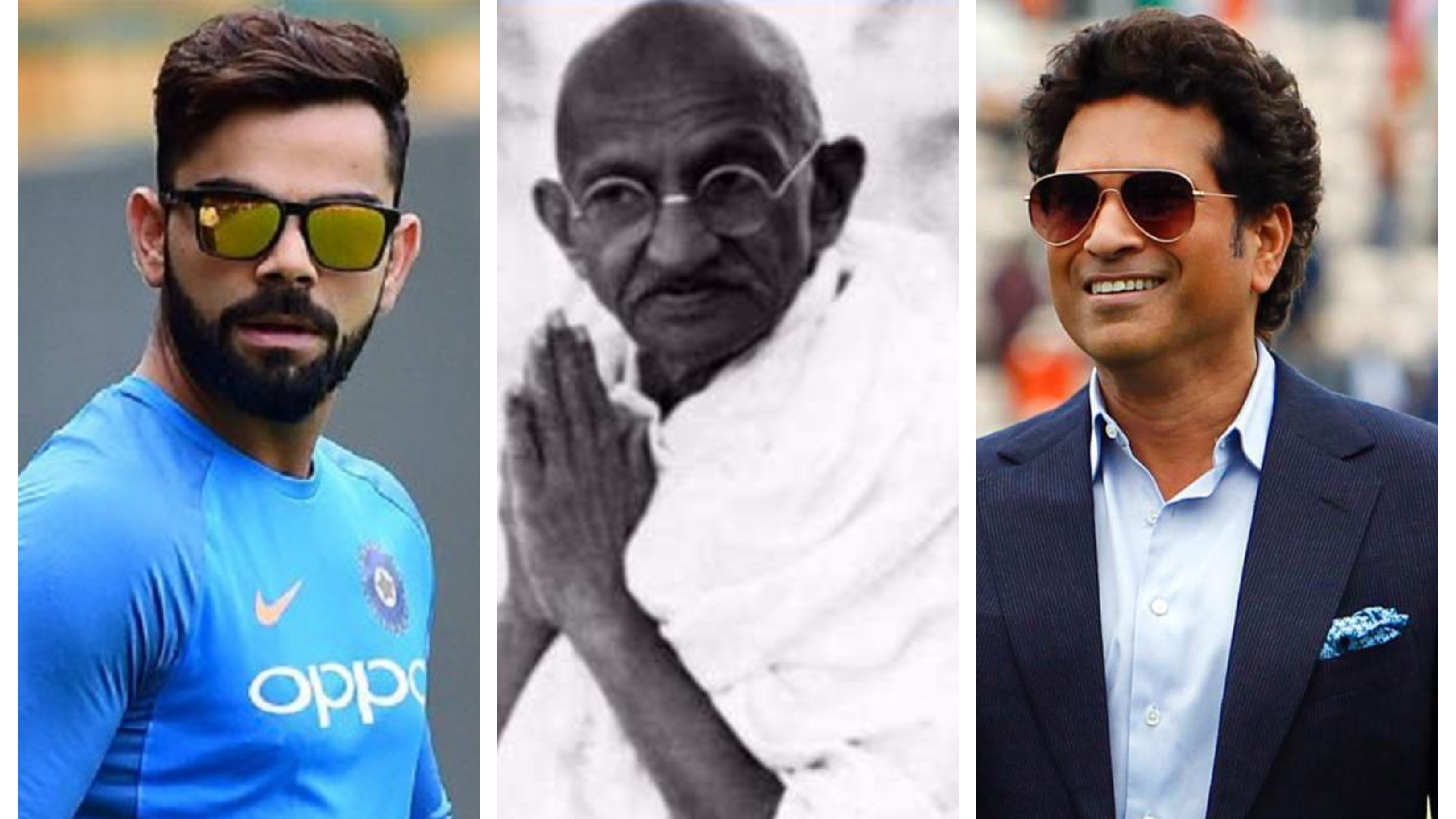 Indian cricket fraternity remembers Mahatma Gandhi on the occasion of 'Gandhi Jayanti'