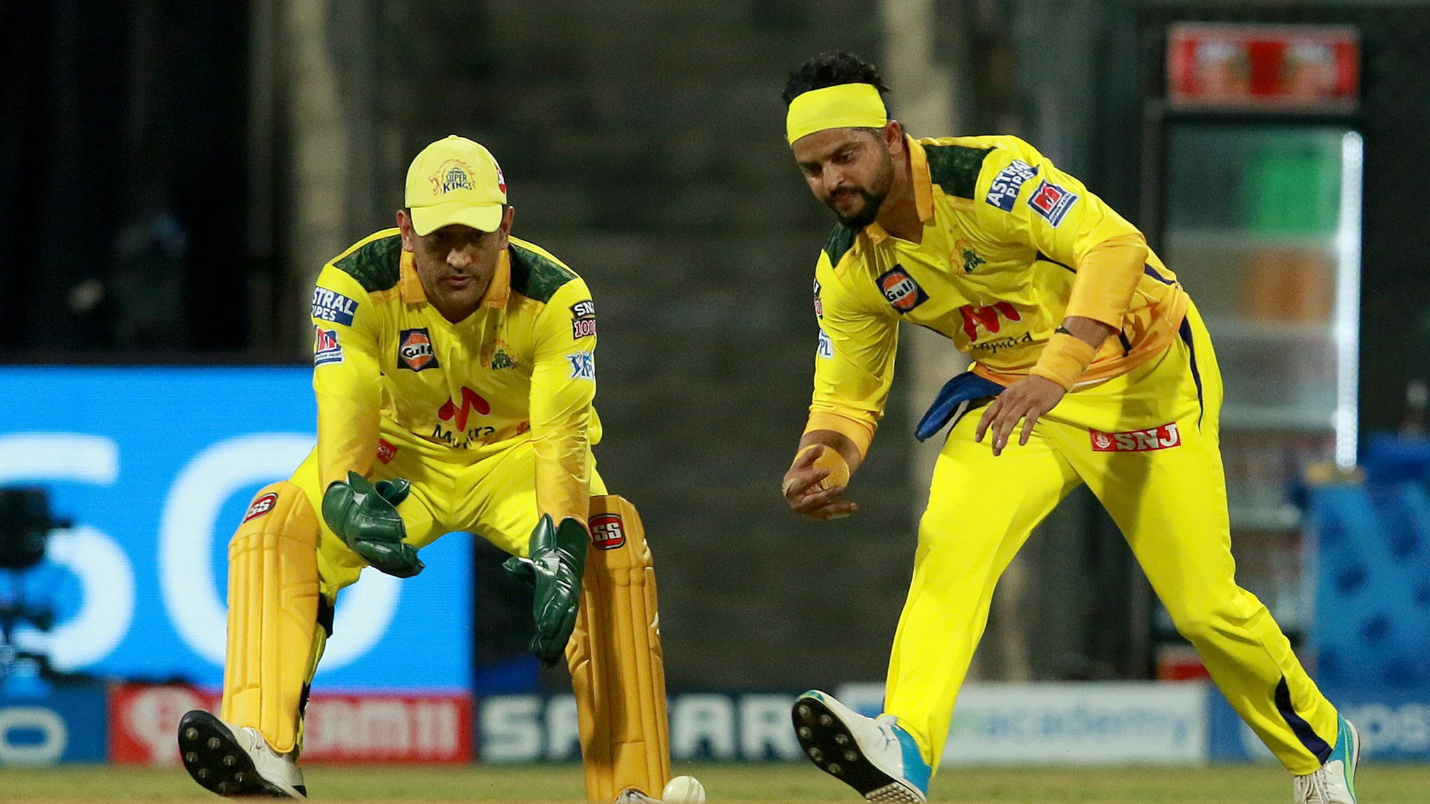 IPL 2021: Keep inspiring us, Thala - Suresh Raina lauds MS Dhoni for completing 150 IPL dismissals