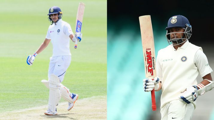 Shubman Gill and Prithvi Shaw are the contenders for opening spot