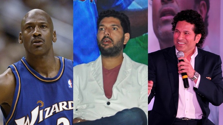Yuvraj Singh says Sachin Tendulkar is Michael Jordan of Indian cricket