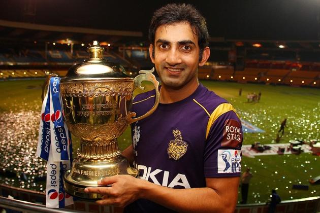 Gautam Gambhir won the IPL for KKR in 2012 and 2014