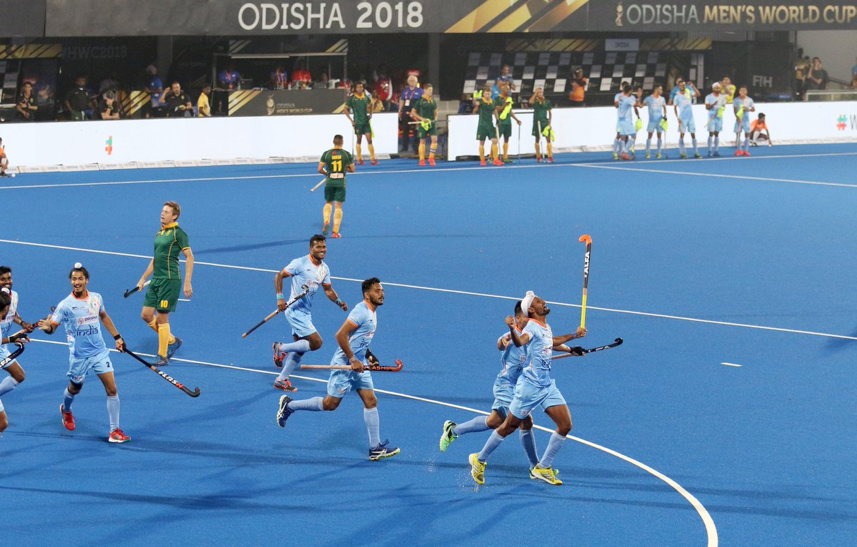 India beat South Africa 5-0 in Hockey World Cup 2018 | Twitter