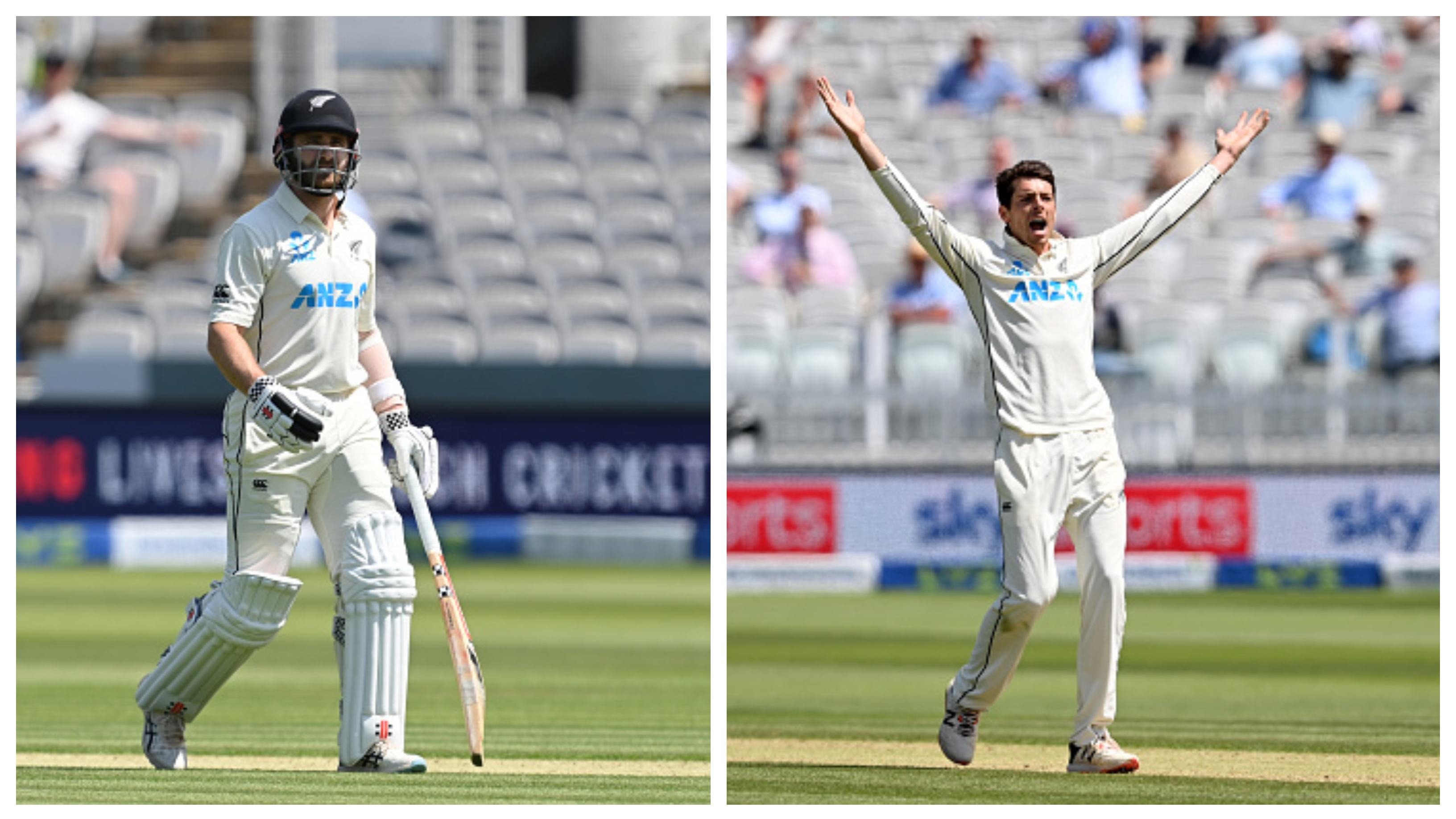 ENG v NZ 2021: Kane Williamson doubtful for second Test, Mitchell Santner ruled out with his cut left index finger