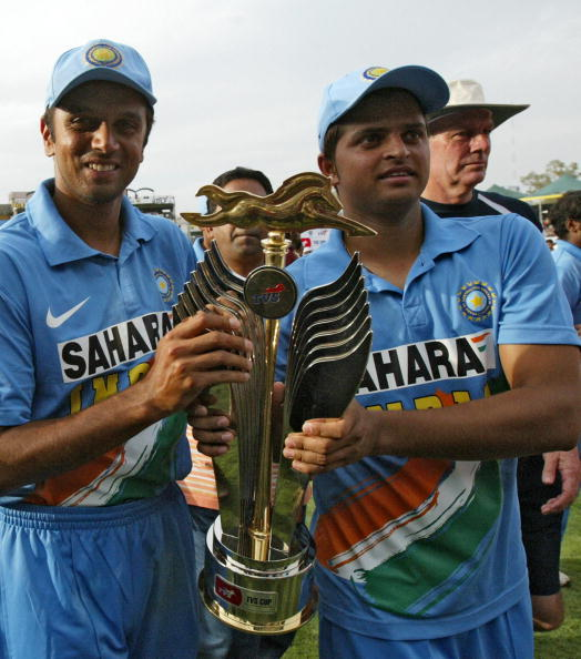 Raina made his India debut during the Chappell-Dravid era in 2005 | Getty