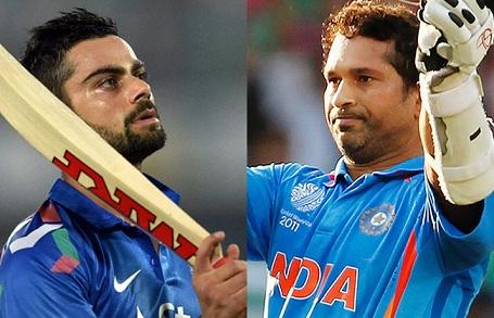 Virender Sehwag confident of Virat Kohli breaking Sachin Tendulkar's ODI records