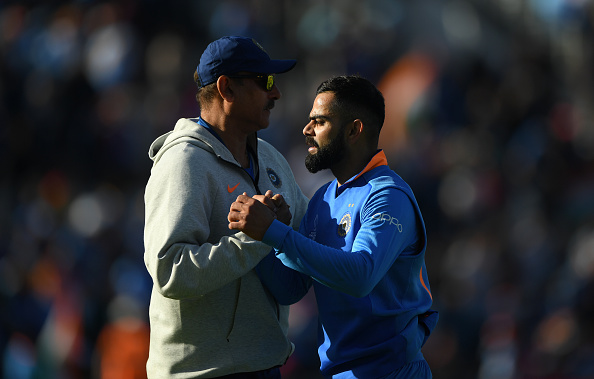 Head coach Ravi Shastri and captain Virat Kohli | GETTY