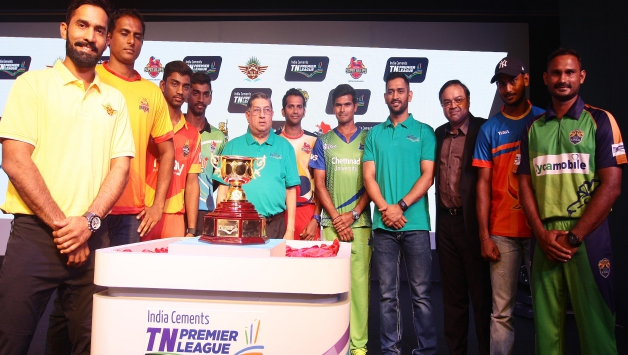 The likes of Dinesh Karthik and Subramaniam Badrinath have played in TNPL (Pic. source: TNPL Media)