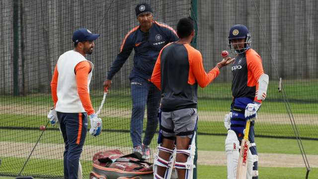 Team India had an intense session in nets | Reuters