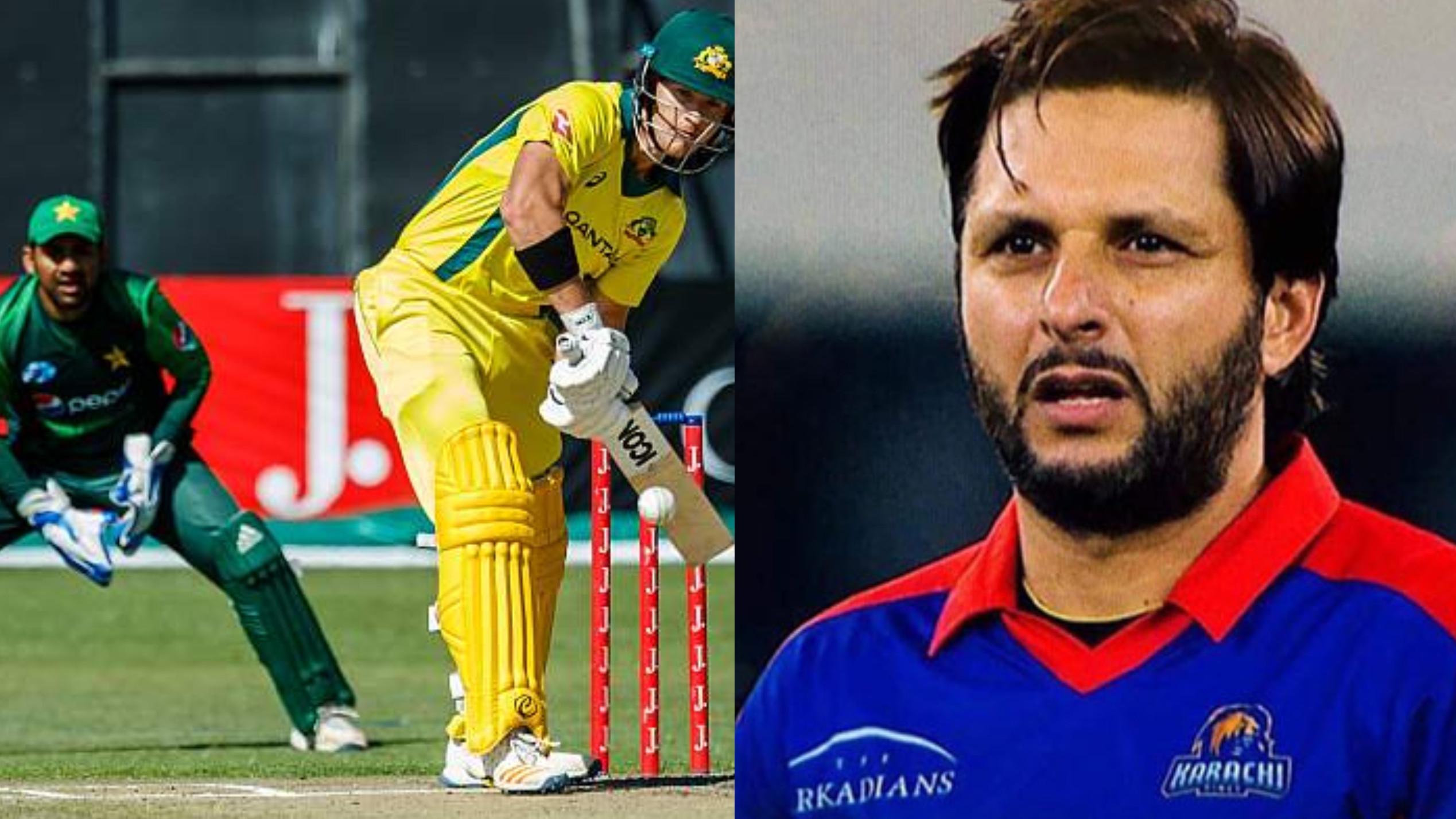 PAK v AUS 2018 : शाहिद अफरीदी पहले T20 मैच में ऑस्ट्रेलियाई टीम के पतन को देख हुए भौचक्के