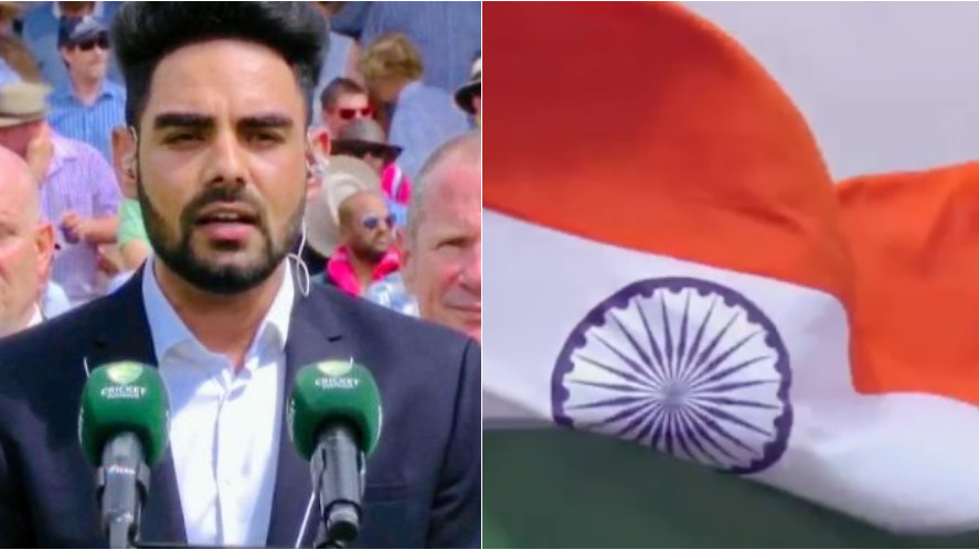 AUS v IND 2018-19: WATCH- Singer Pav Dharia gets goosebumps singing Indian national anthem before the match