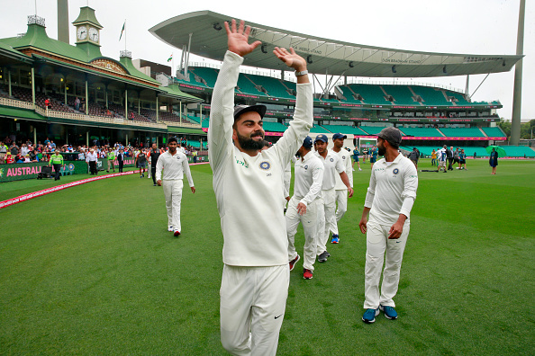 Virat Kohli became first Asia captain to win Test series in Australia | Getty Images