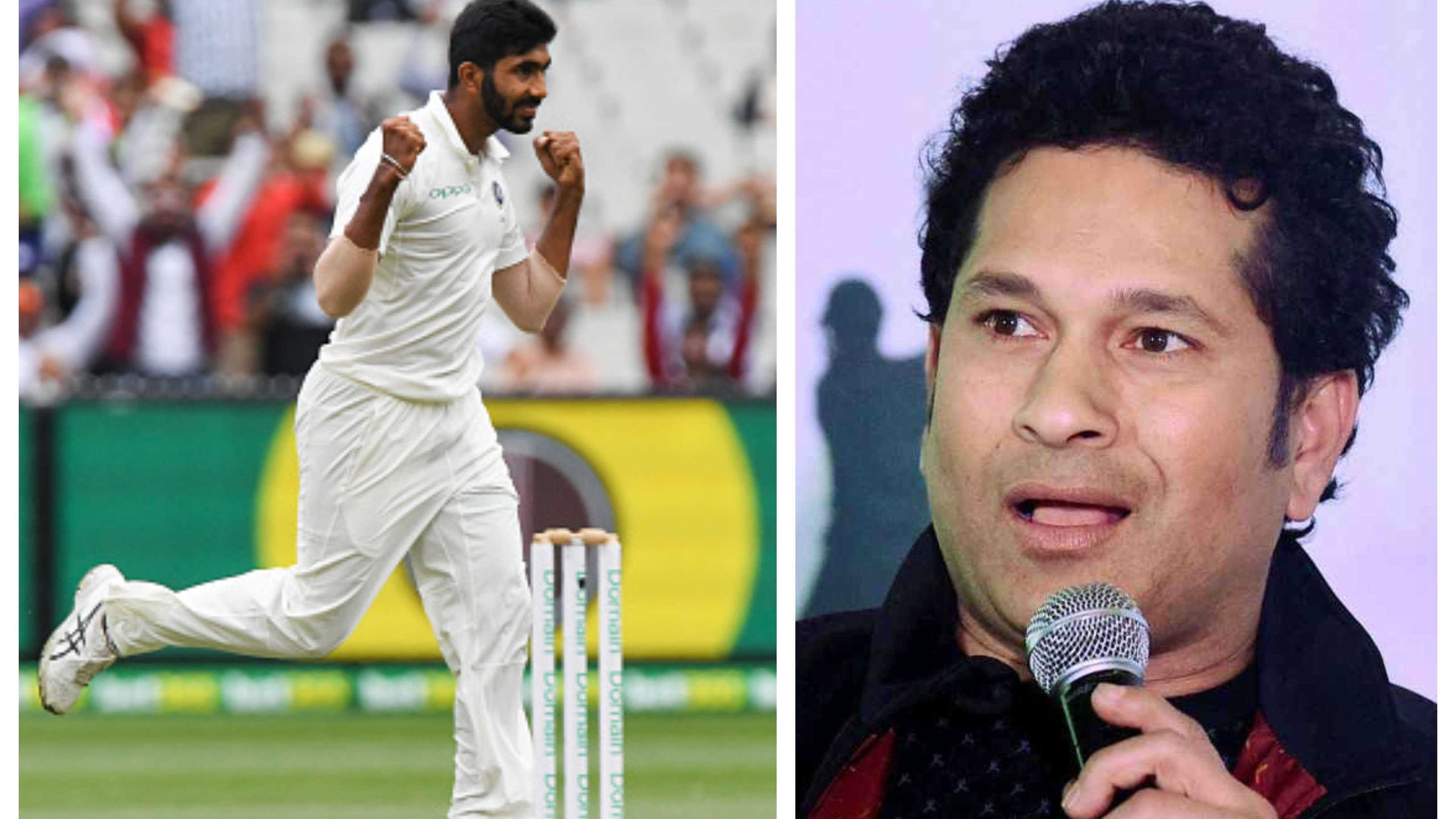 Sachin Tendulkar not surprised by Bumrah's emergence as a destructive bowler