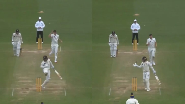 WATCH - Tom Blundell's bizarre obstructing the field dismissal; only second instance in NZ's first-class history