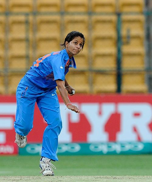 Poonam Yadav picked three wickets for India