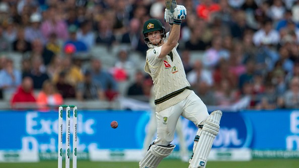 Steve Smith explains thought behind employing an unusual stance