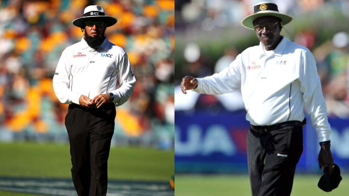 AUS v NZ 2019-20: Aleem Dar set overtake Steve Bucknor's record for umpiring in most Tests in Perth match