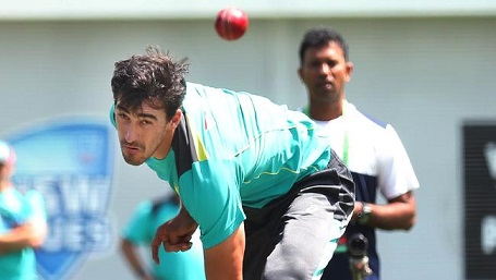 Ashes 2017-18:  Mitchell Starc raring to go for Sydney Test