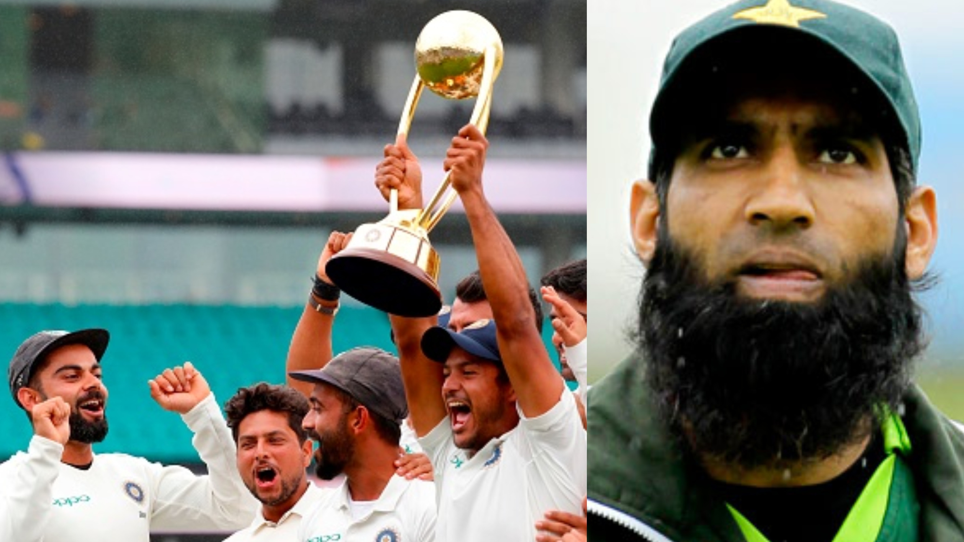 AUS v IND 2018-19: Mohammad Yousuf clarifies his comments on India's historic Test series win in Australia