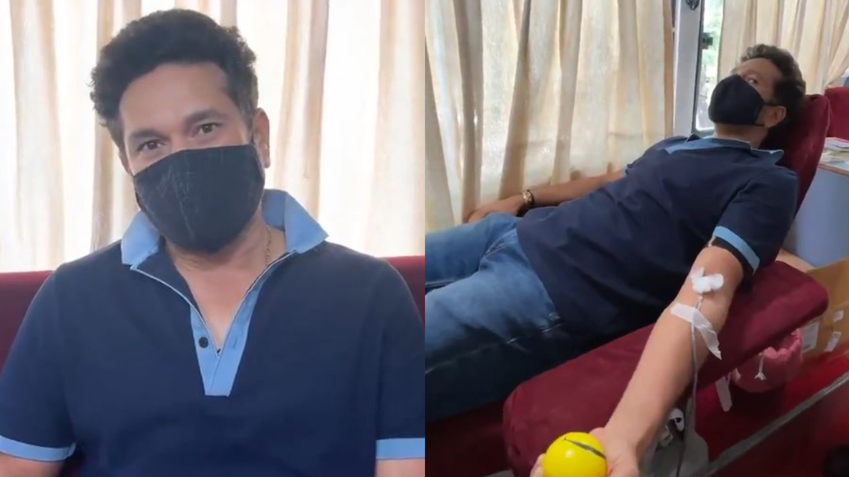 WATCH- Sachin Tendulkar urges people to save a life by donating blood on World Blood Donor day