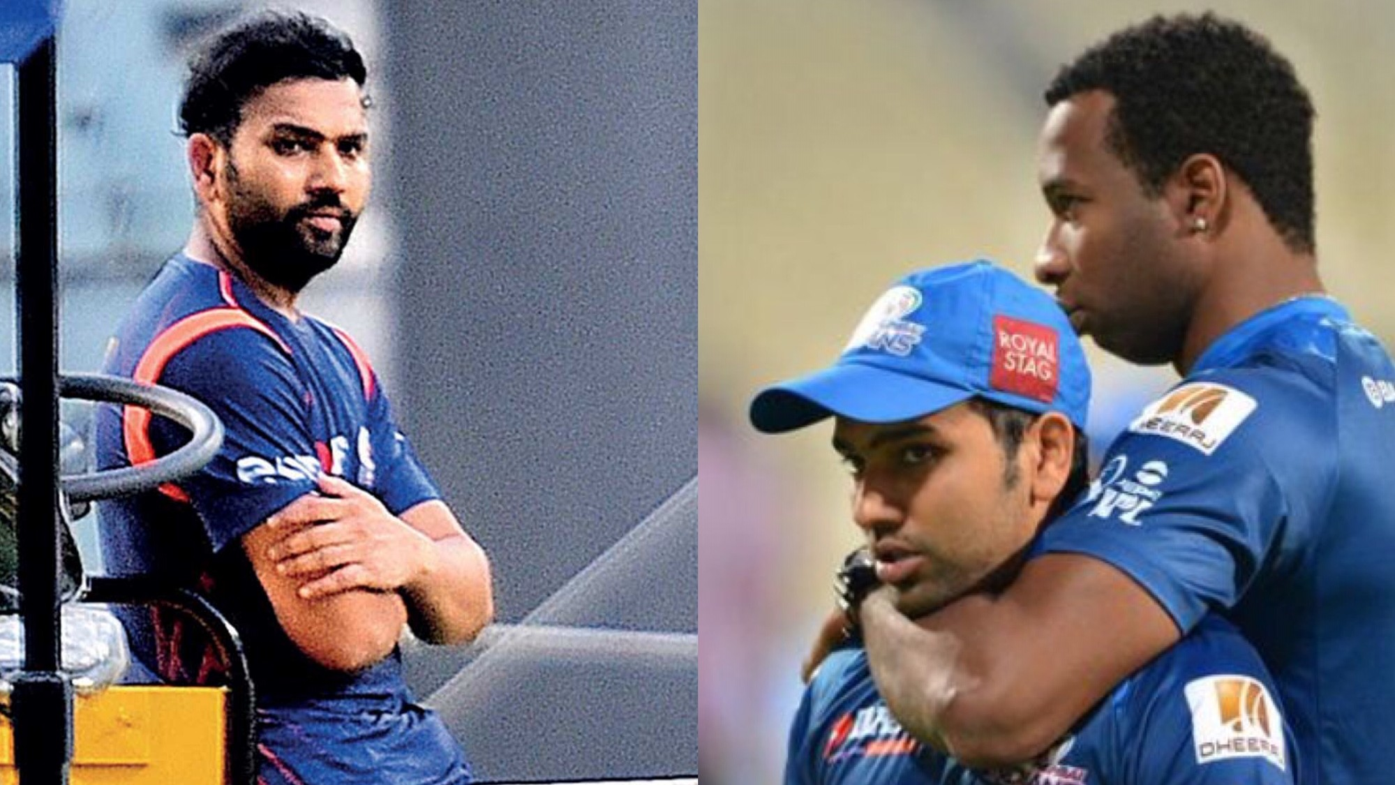 Kieron Pollard unfollows Mumbai Indians captain Rohit Sharma on Twitter