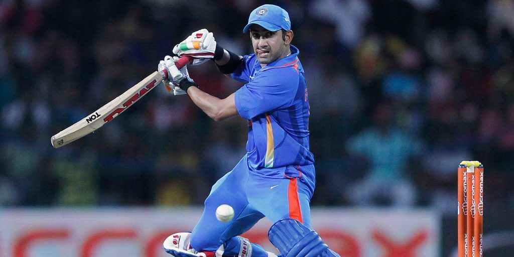 Gautam Gambhir played in two World Cups for India | Getty Images