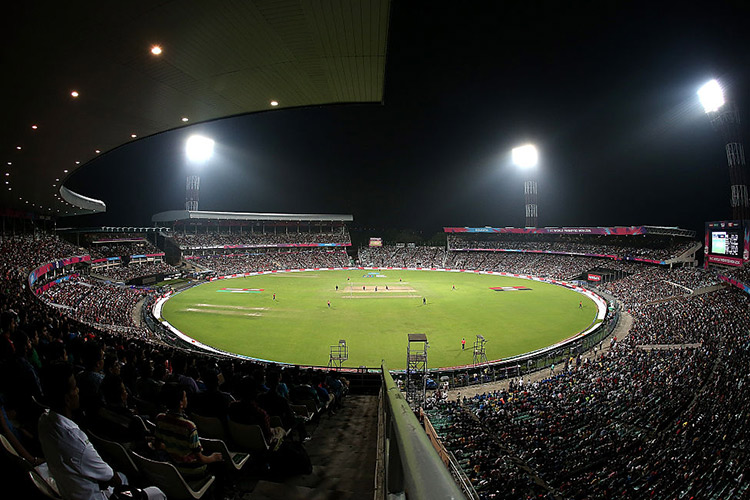 The great Eden Gardens will host the historic first in India | Getty