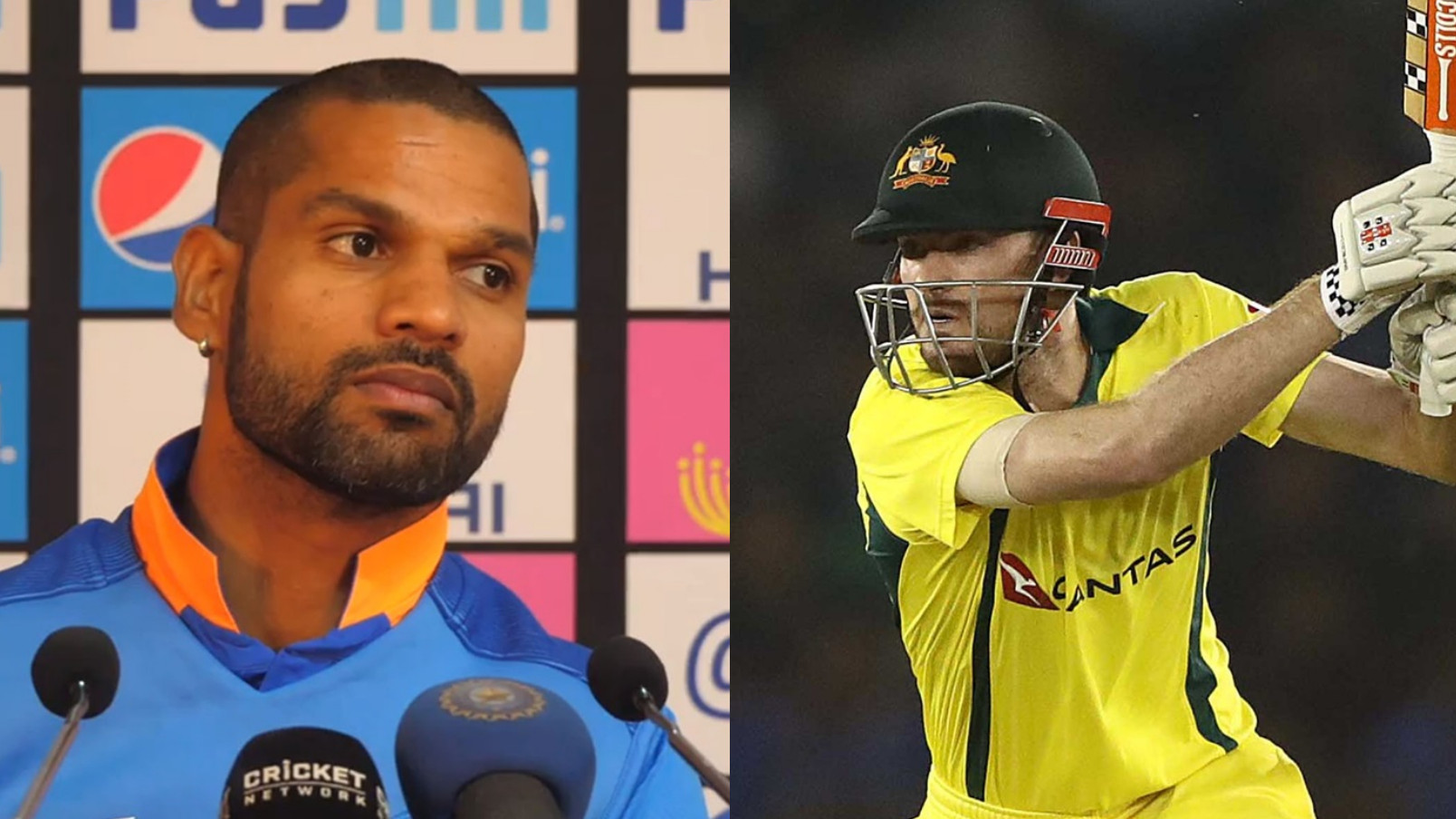 IND v AUS 2019: Cricket Australia has fun at the expense of Shikhar Dhawan after he forgets Ashton Turner's name