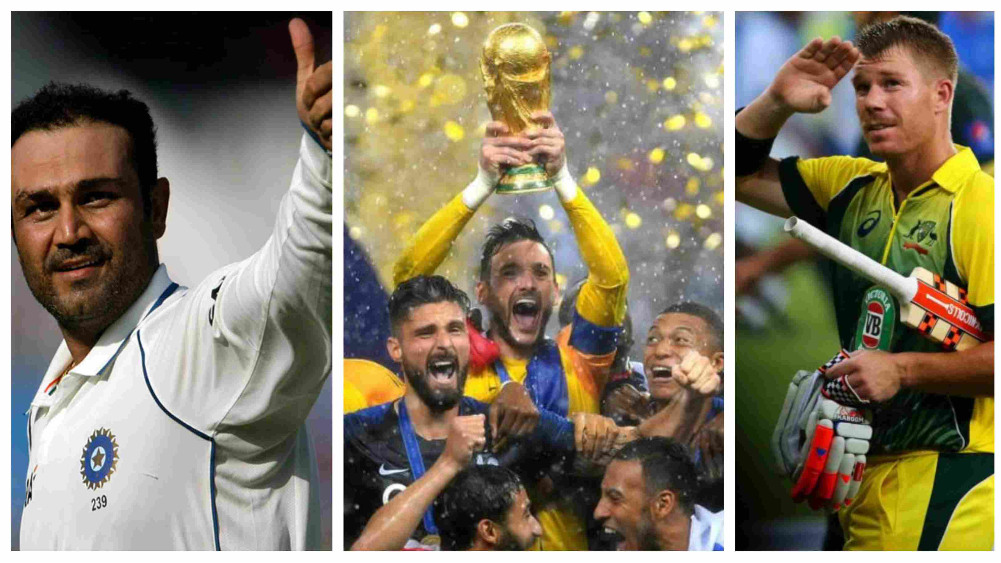 Cricket fraternity laud France football team as they lift FIFA World Cup 2018