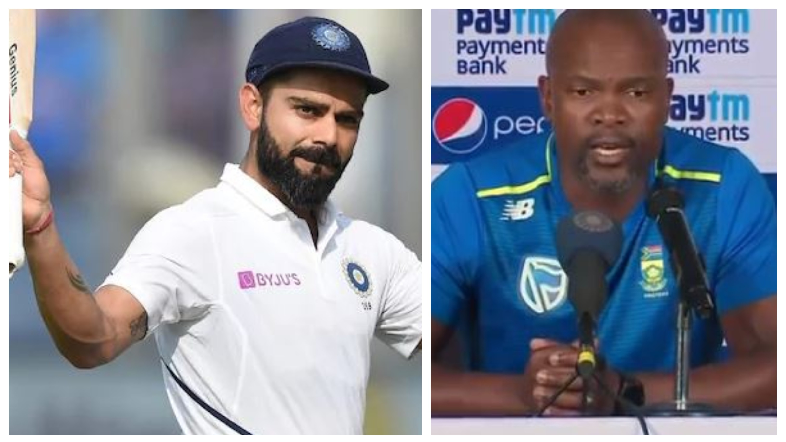 IND v SA 2019: South Africa coach hails