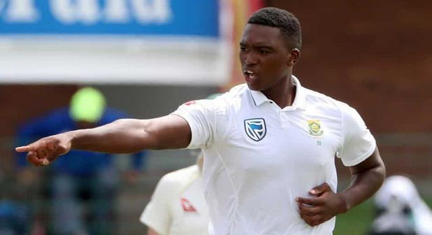 Lungi Ngidi has been ruled out for three months after injuring his knee | Getty