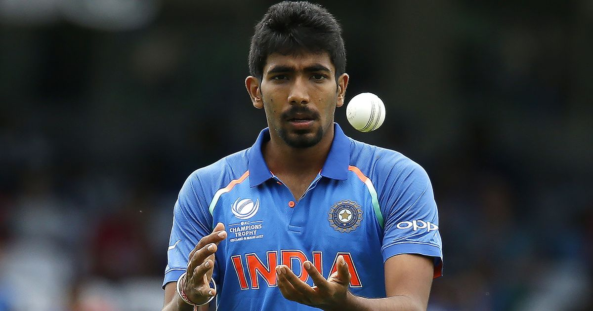 Jasprit Bumrah bowls with a white ball during the ICC Champions Trophy 2017 | Getty