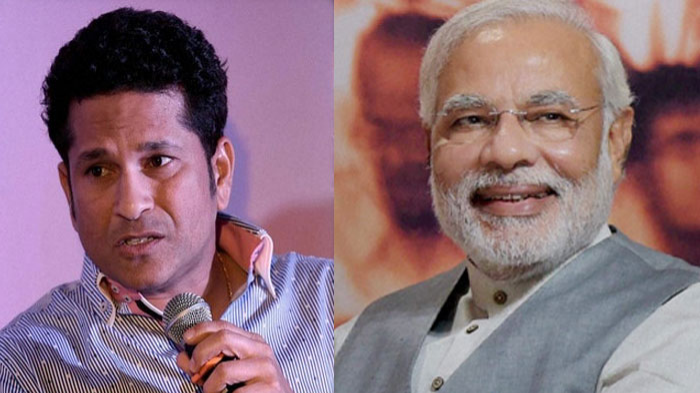 Sachin Tendulkar calls PM Modi's childhood inspirational after watching a short film on the PM