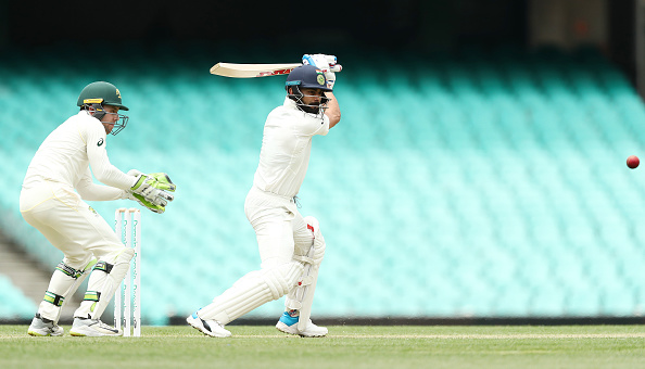 Kohli was in full flow during the warm-up clash against CA XI | Getty