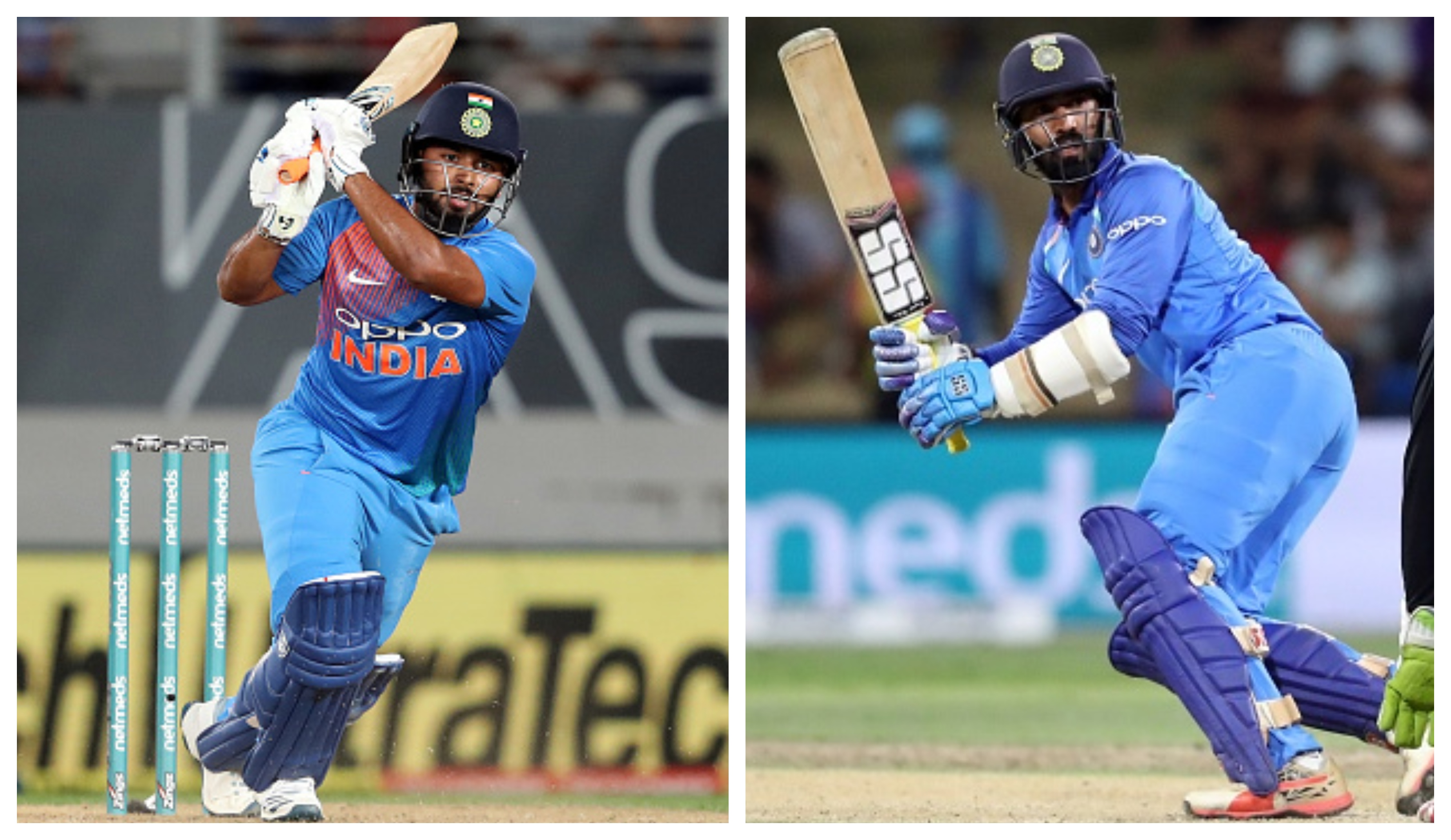 A shoot-out is also expected between Rishabh Pant and Dinesh Karthik | Getty