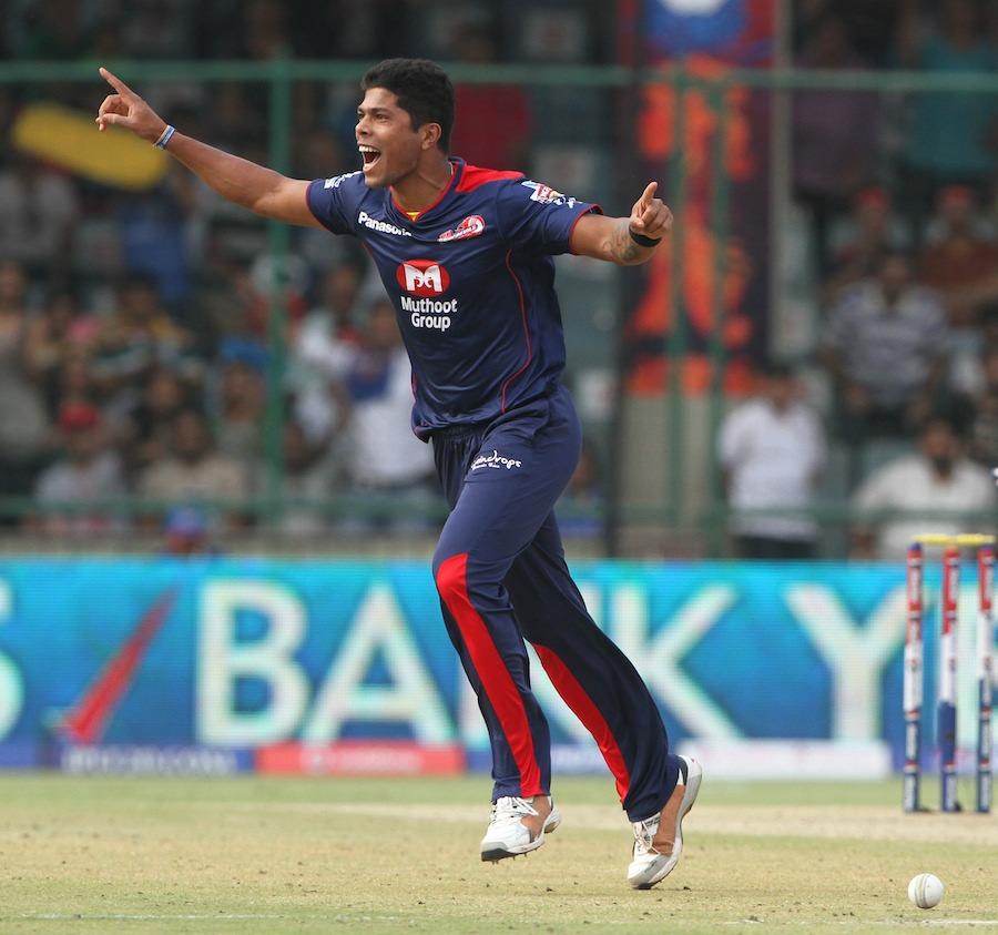 Umesh Yadav for Delhi Capitals (then Delhi Daredevils) | IPL Twitter