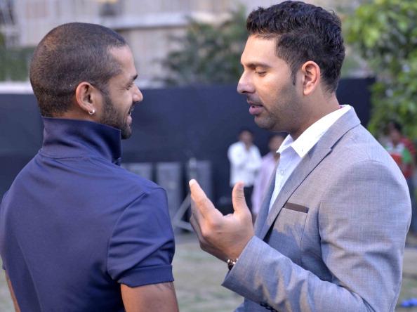 Shikhar Dhawan and Yuvraj Singh | GETTY